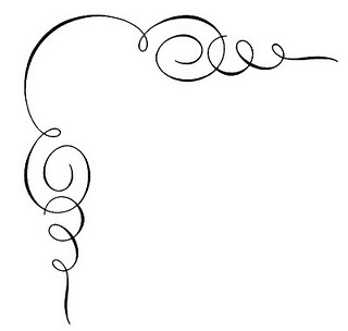Squiggly clipart fancy.
