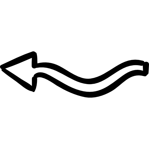 Squiggly clipart white.