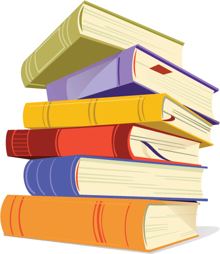 books clipart animated