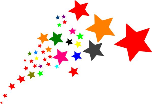 Stars clipart animated.