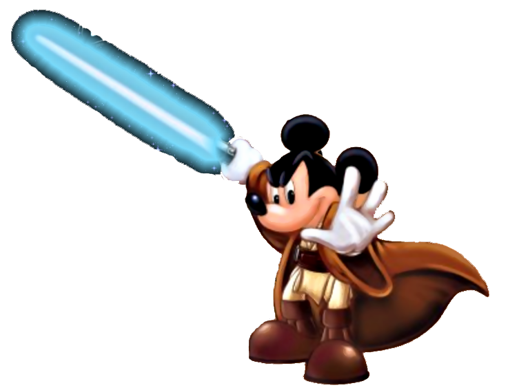 starwars clipart mickey