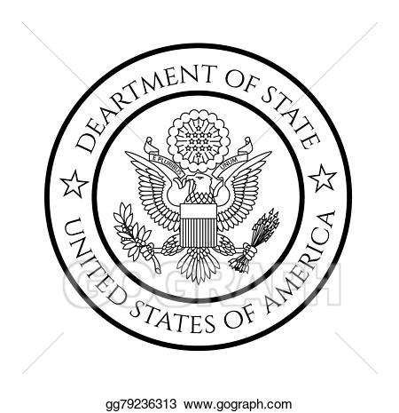 State clipart seal.