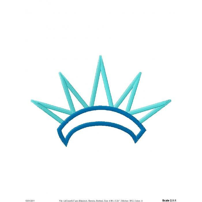 Statue of liberty clipart crown.