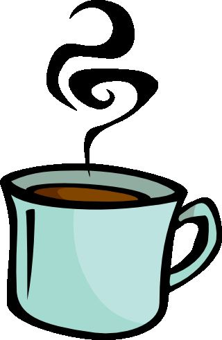 latte clipart steaming