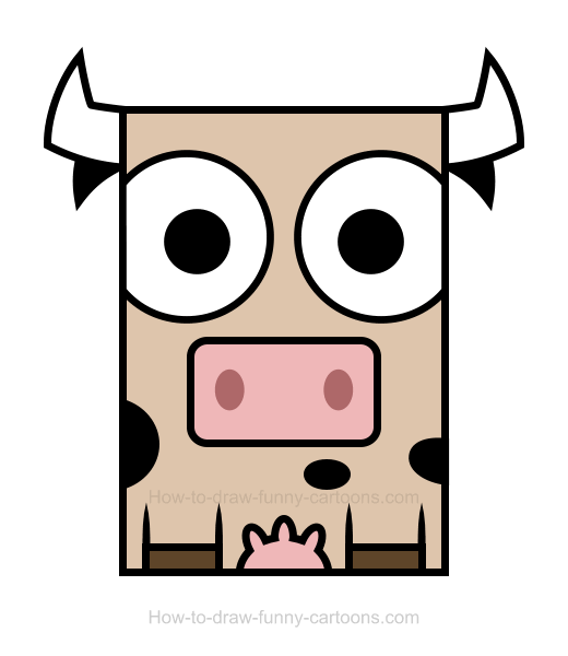 cow clipart drawing