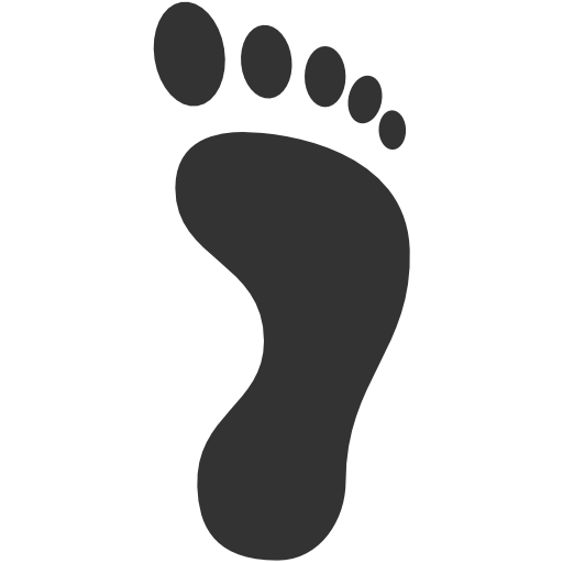 foot clipart transparent background