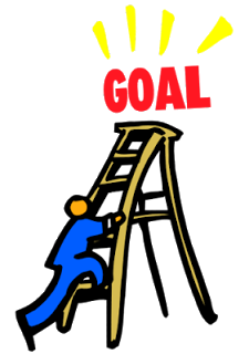 goal clipart reaching