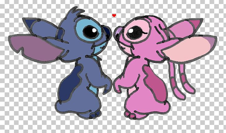 Stitch clipart angel.