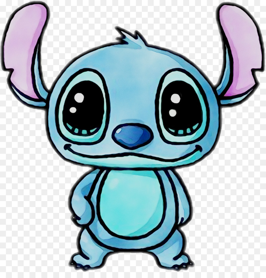 Stitch clipart kawaii.