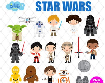 starwars clipart christmas