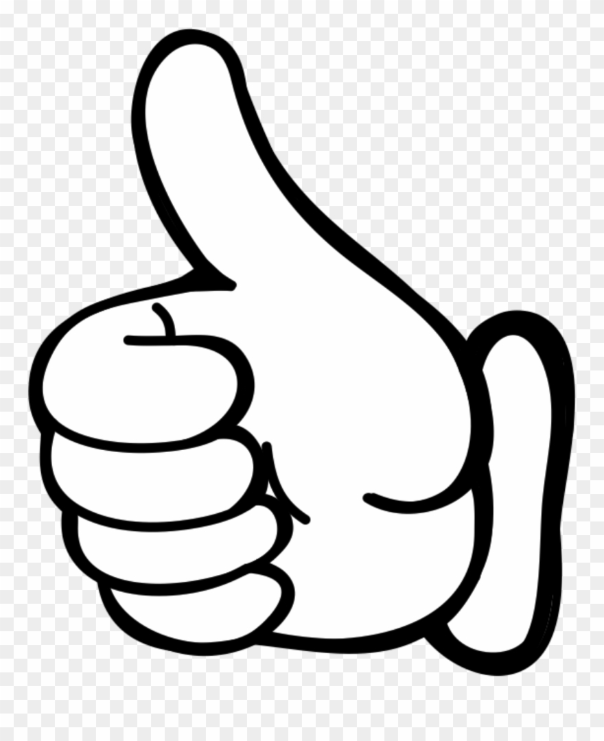 clipart thumbs up hand