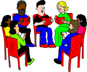 talking clipart group