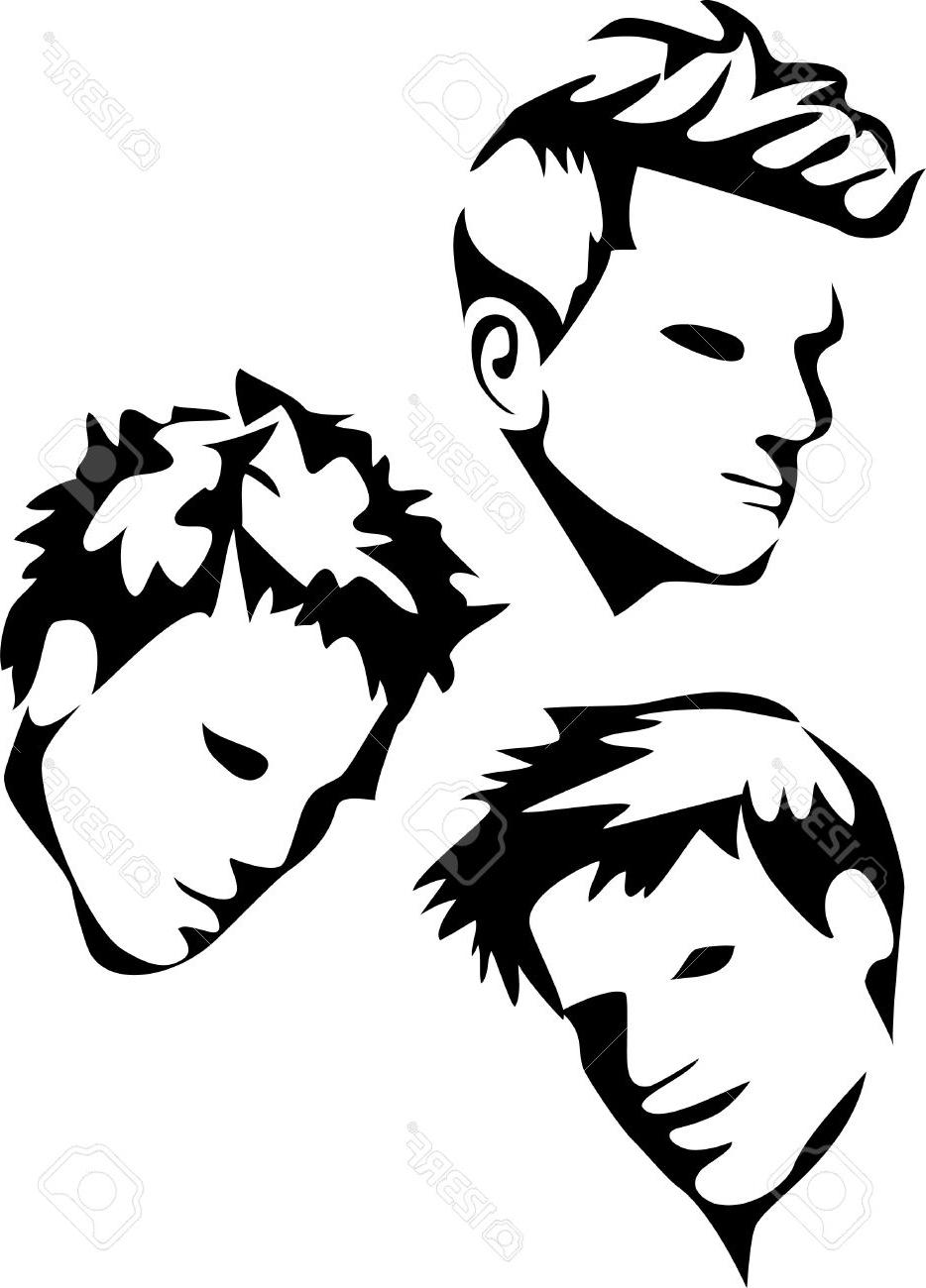 Clipart hairdresser child haircut.