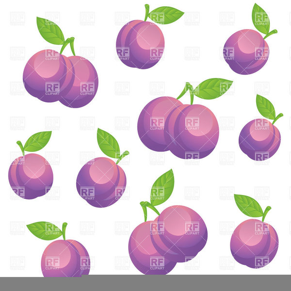 greengage clipart plums