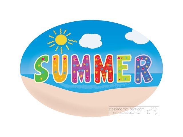 Clipart free images summer.
