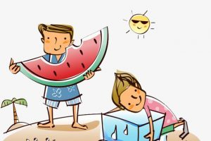 Summer clipart hot.