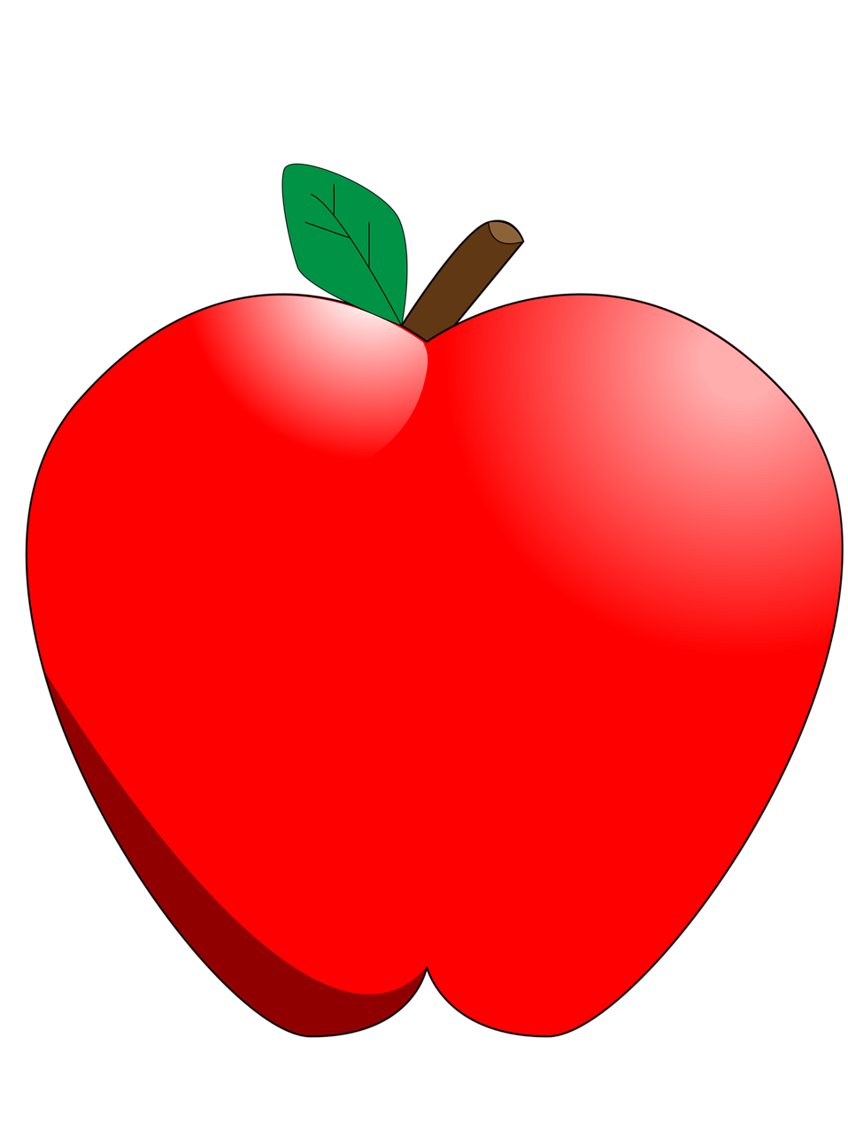 apple clipart clear background