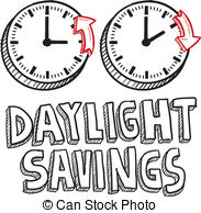 November clipart daylight savings.