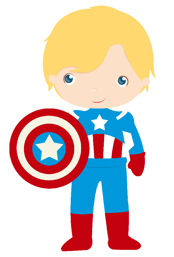 superheroes clipart animated