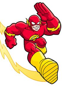 the flash clipart animated