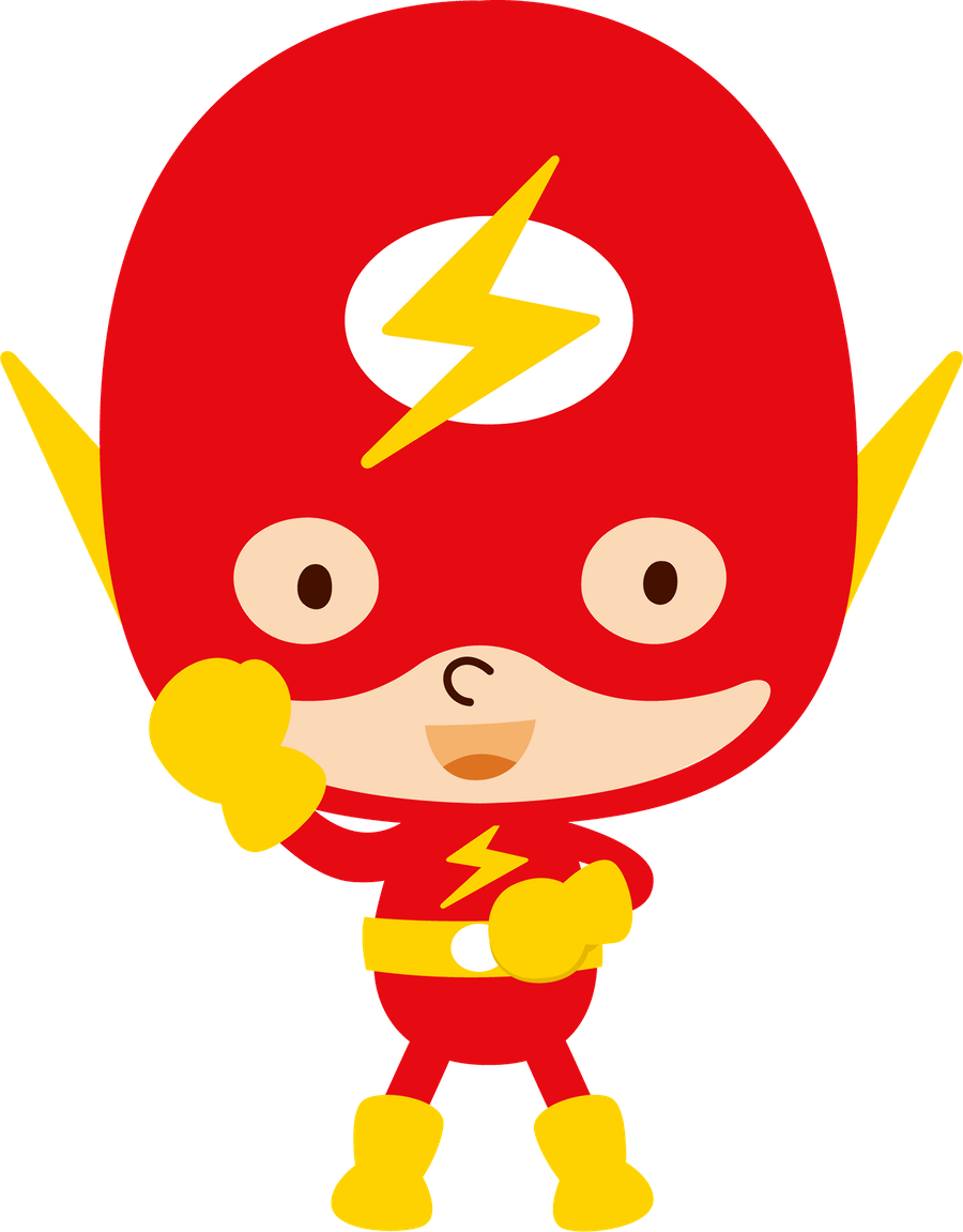 the flash clipart baby