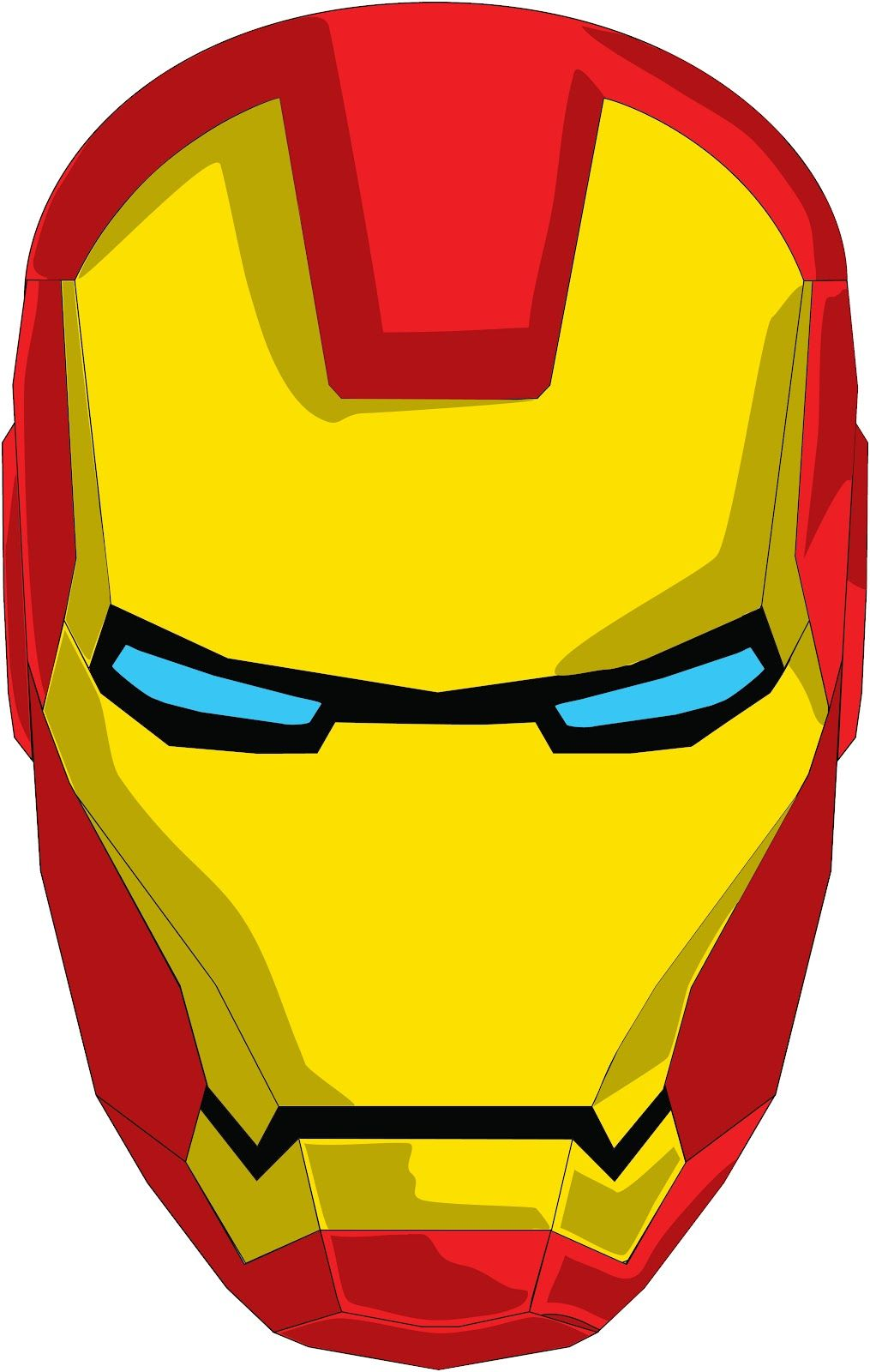Superheroes clipart ironman symbol.