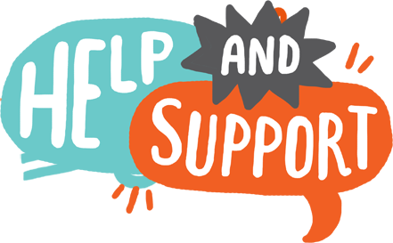 help clipart support