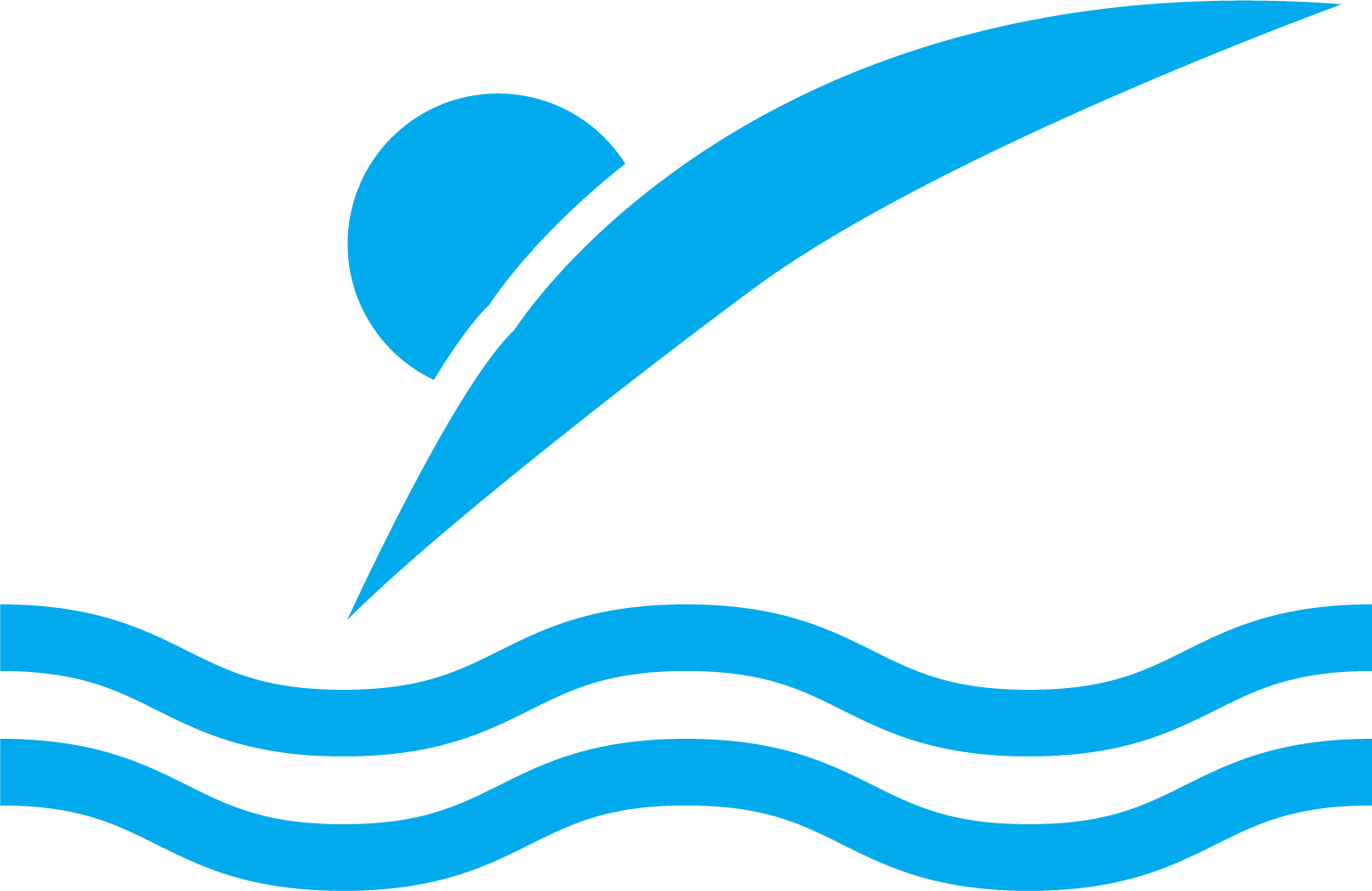 Swimming clipart wave.