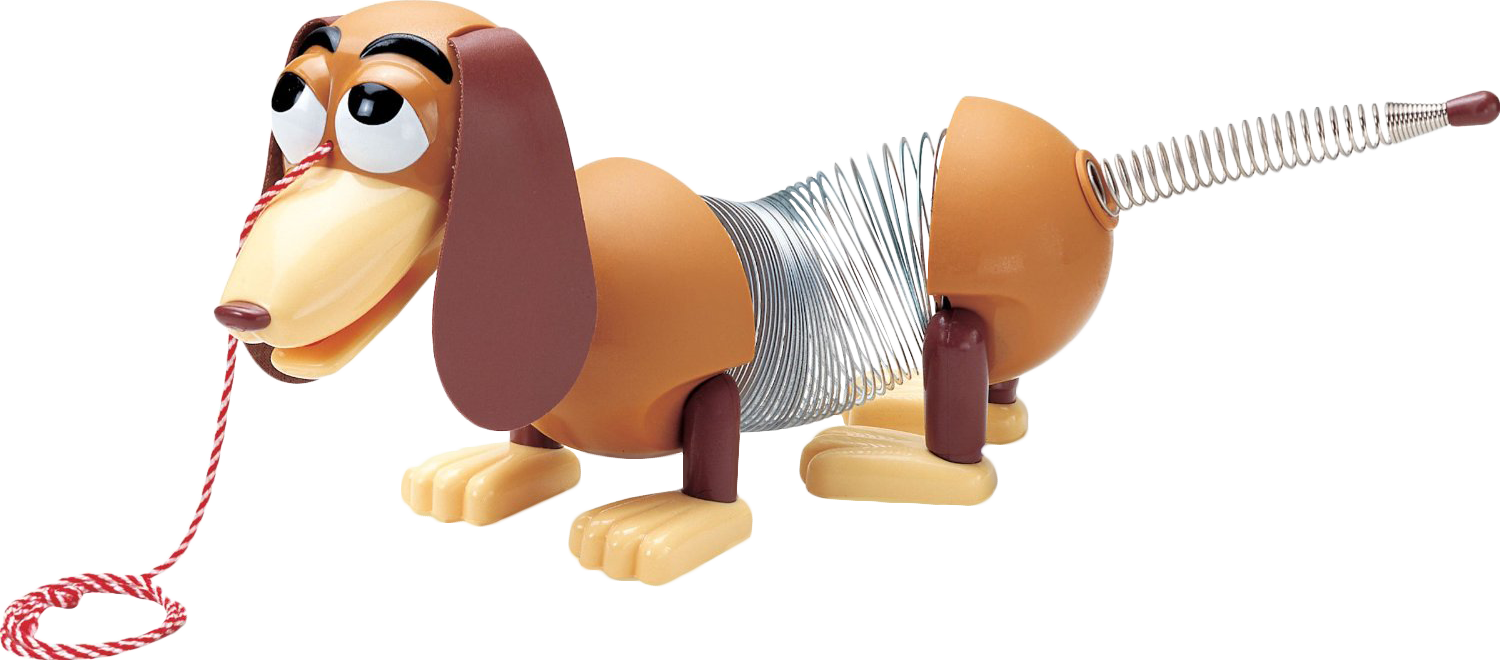 T rex clipart toy story slinky dog.
