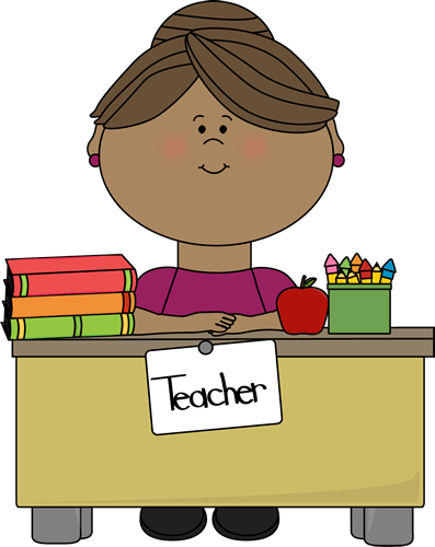 time clipart teacher