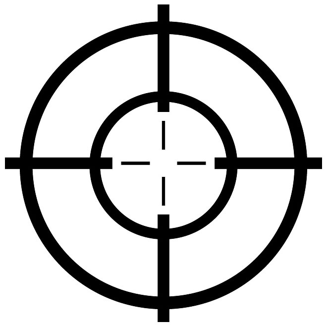 sniper scope clipart shooter