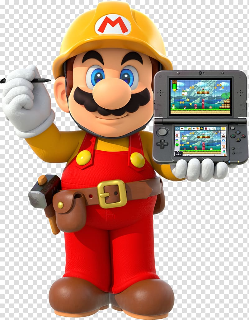transparent clipart maker mario super