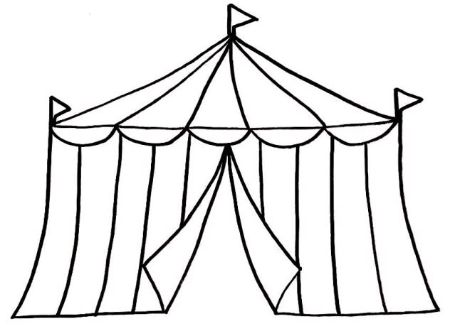 Tent clipart house.