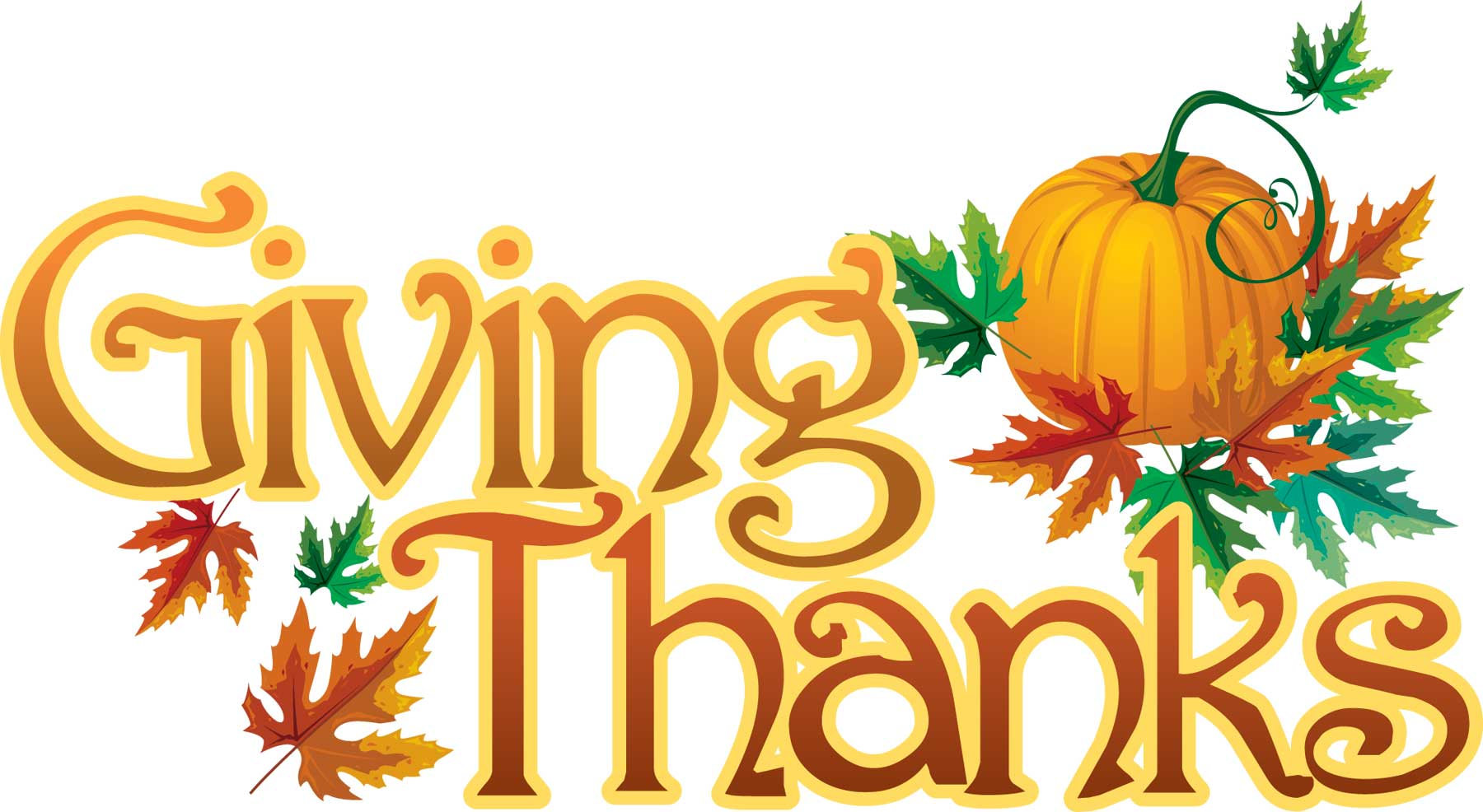 clipart thanksgiving give thanks