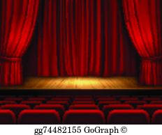 Theatre clipart stage.