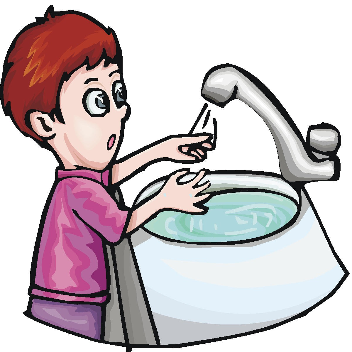 wash hands clipart cold prevention