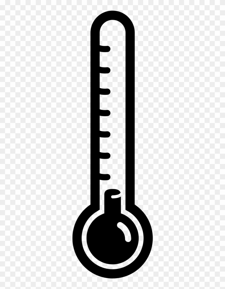 Thermometer clipart transparent background.