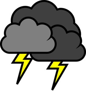thunder clipart severe weather
