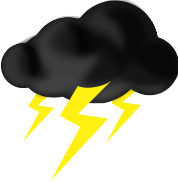 thunder clipart lightining