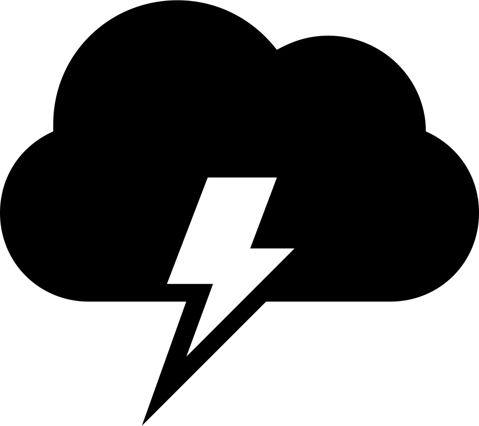 thunder clipart electrical storm