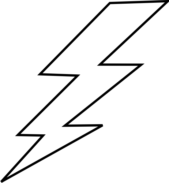 lighting clipart thunder