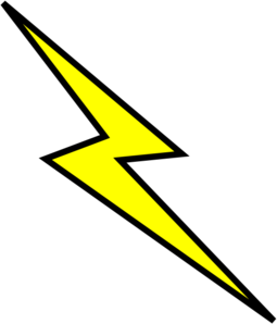 thunder clipart lightning strike