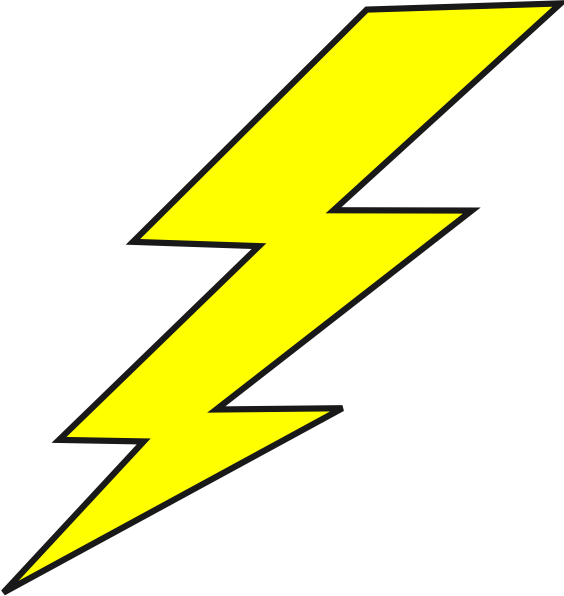 lighting clipart lightning bolt