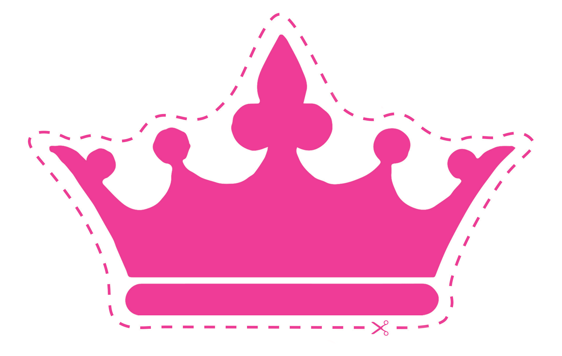 queen crown clipart pink
