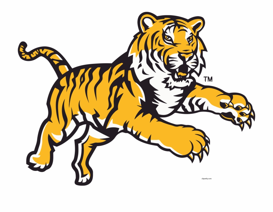 tiger clipart angry