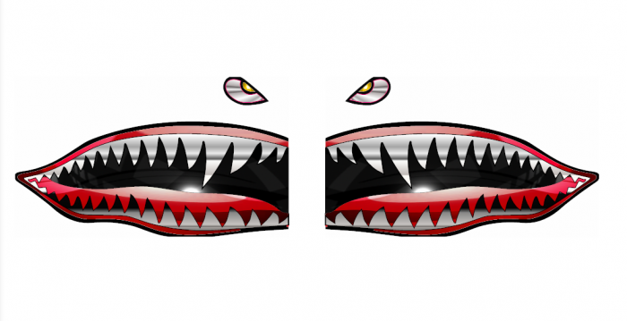 Tiger clipart flying tigers.