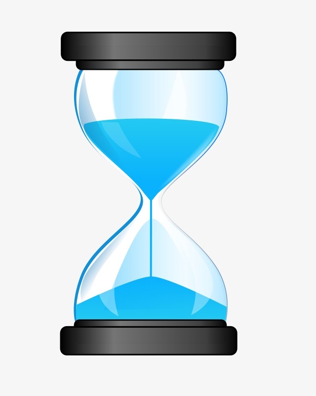 Time clipart hourglass.