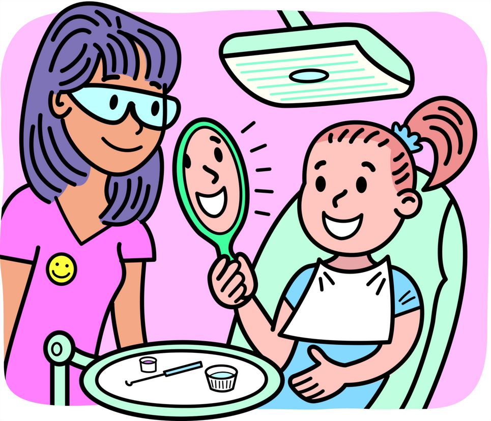 Dentist clipart graphics illustrations.