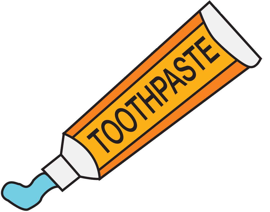 Toothpaste clipart transparent background.