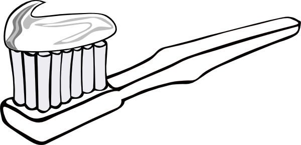 toothpaste clipart sketch